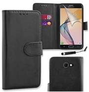 PU Leather Flip Case Cover For Samsung Galaxy J5