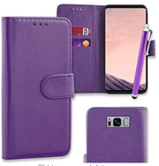 Flip Wallet Case Cover Pouch for Samsung Galaxy S8 (G950F)