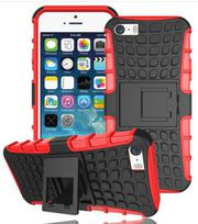 Military Builders Stand Case Hard Cover for iPhone
