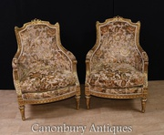 Buy Beautiful Pair French Arm Chairs at relevant price